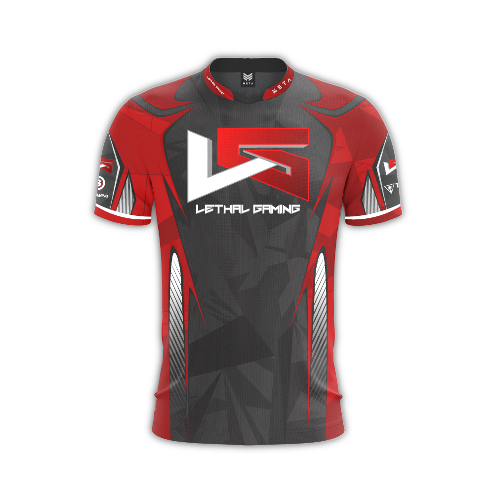 529462f27bb Lethal Gaming Red Jersey (Custom) – MetaThreads