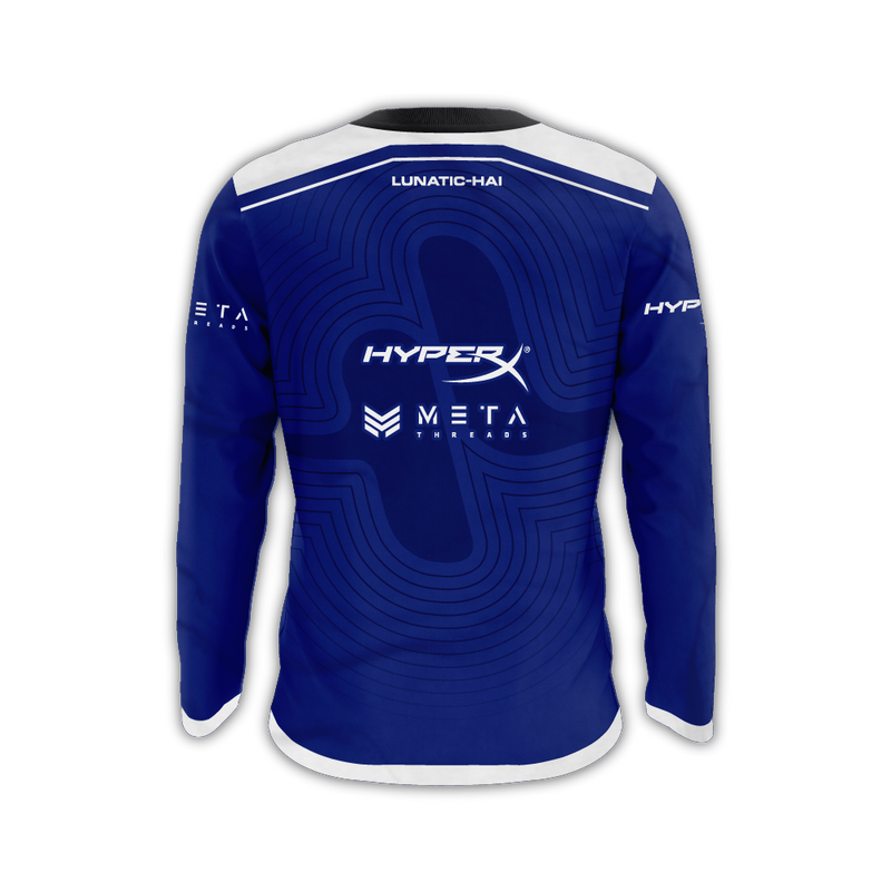 "Lunatic-Hai ""Waves"" Long Sleeves Jersey"