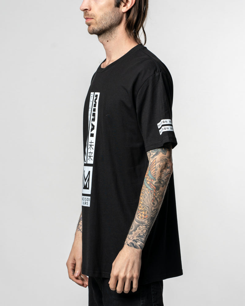 "Madison Mars ""Future"" Black Tee"