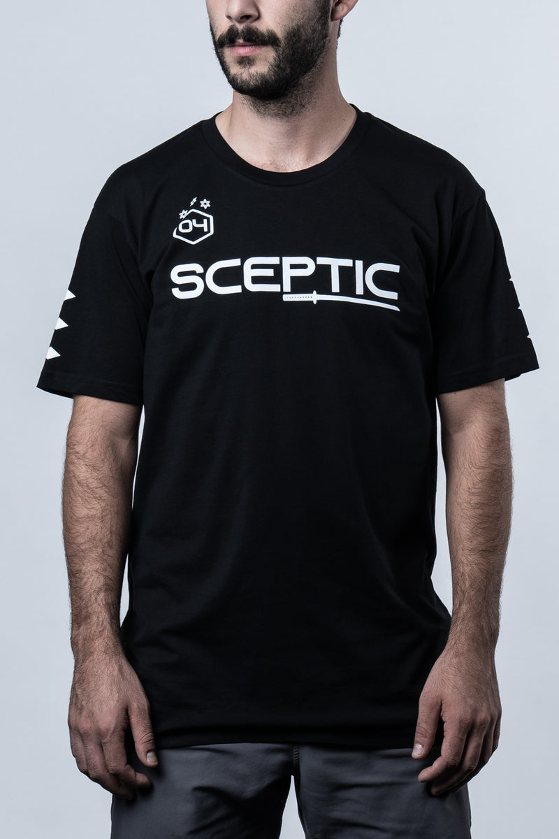 Sceptic Core Black Tee