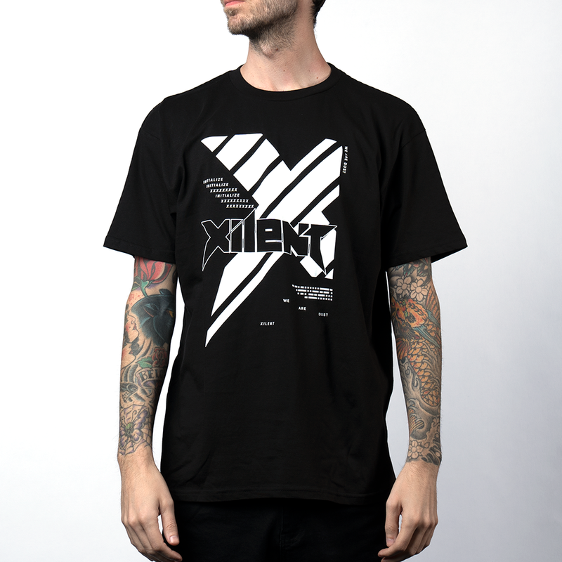 Xilent Initialize Black Tee