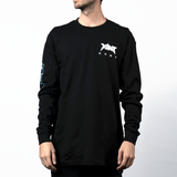Xilent Corp Long Sleeve Black Tee