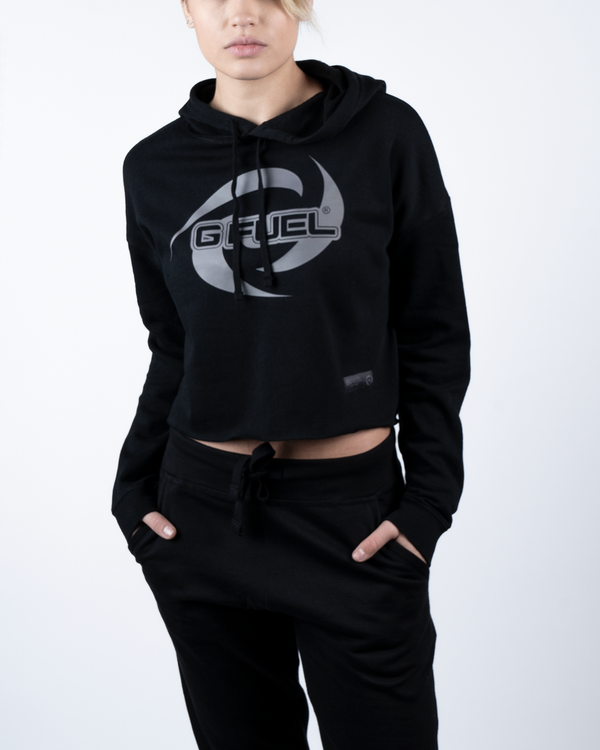 G FUEL Blackout Crop Hoodie - Female