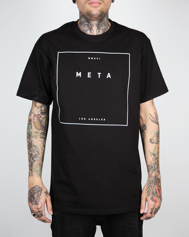 "Meta Threads ""Hit Box Black"" Tee"
