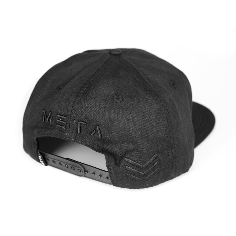 Blackout - Wax Coated Snapback