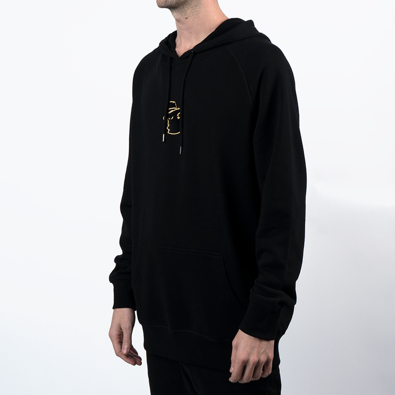 The Mob Black Hoodie - LA Collection