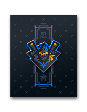 "Ninja ""Katana"" Collector's Pin"