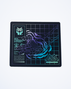 "Meta Threads ""Optical Release"" Mouse Pad"