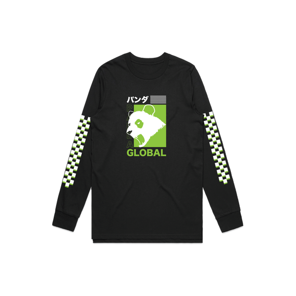 "Panda Global ""Simplified"" Black Long Sleeve"