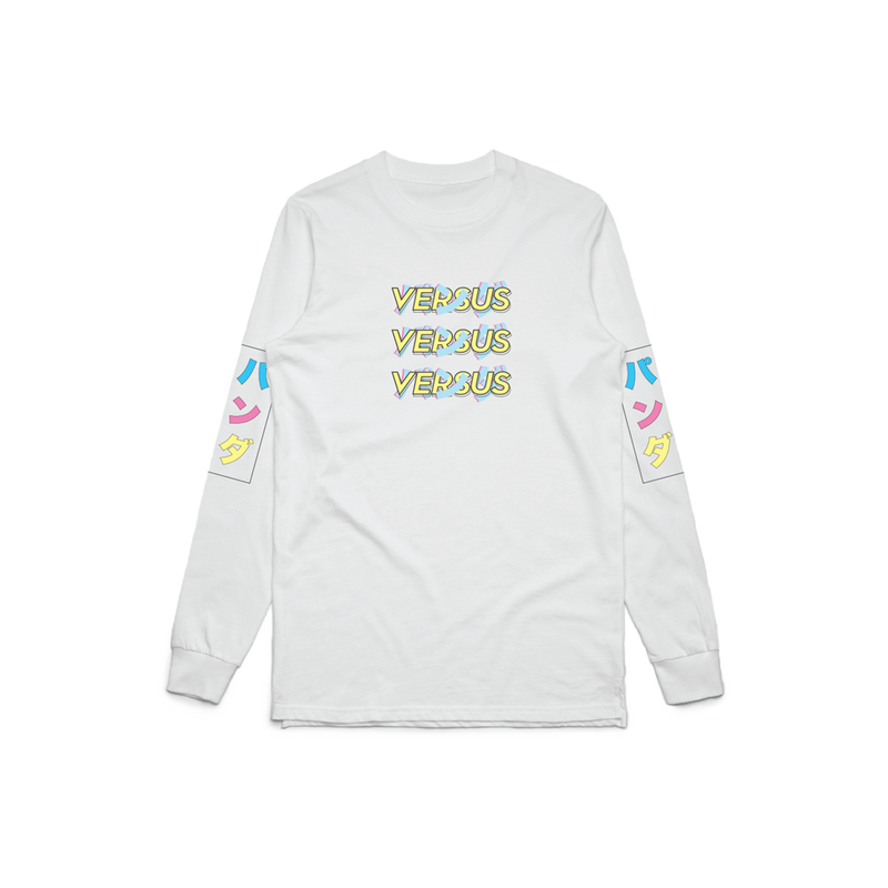 "Panda Global ""Vapor"" White Long Sleeve"