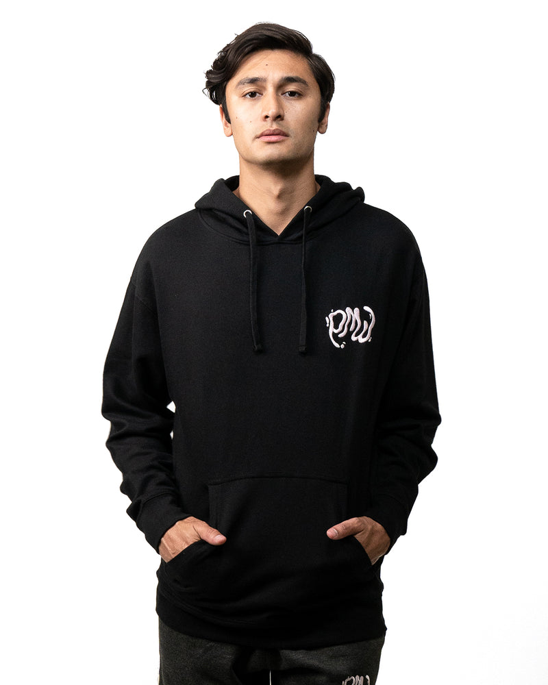 "PMW ""Cat Duo"" Black Pullover"