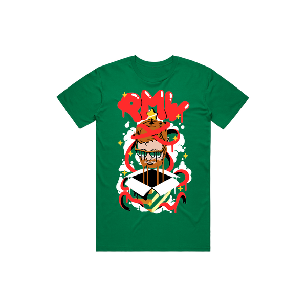 "PMW ""Pleasant Holiday"" Green Tee"