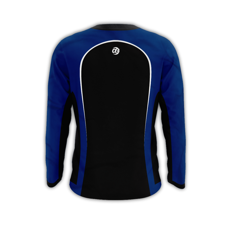 "Panda Global ""Alpharad Blue"" Long Sleeve Jersey"