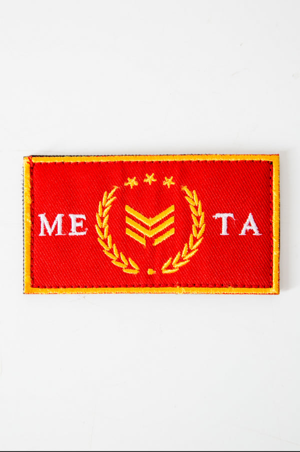Crimson Velcro Patch