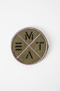 Crosscut Velcro Patch