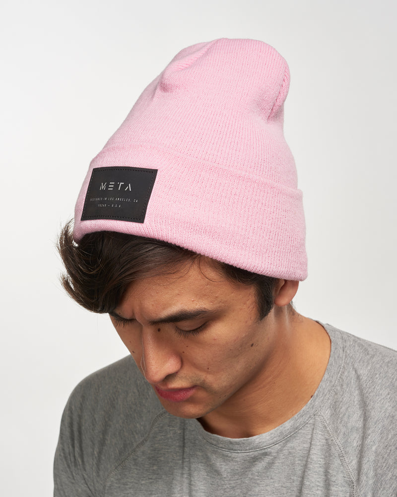 3M Reflective Patch Beanie Baby Pink