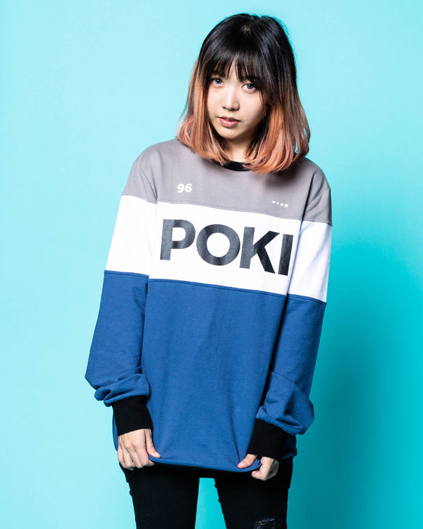 Pokimane Cozy Color Block Sweater