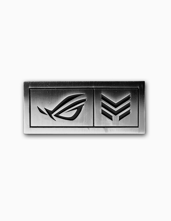 ROGxMETA Metallic Pin