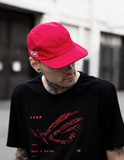 Unstoppable 5 Panel Hat Red