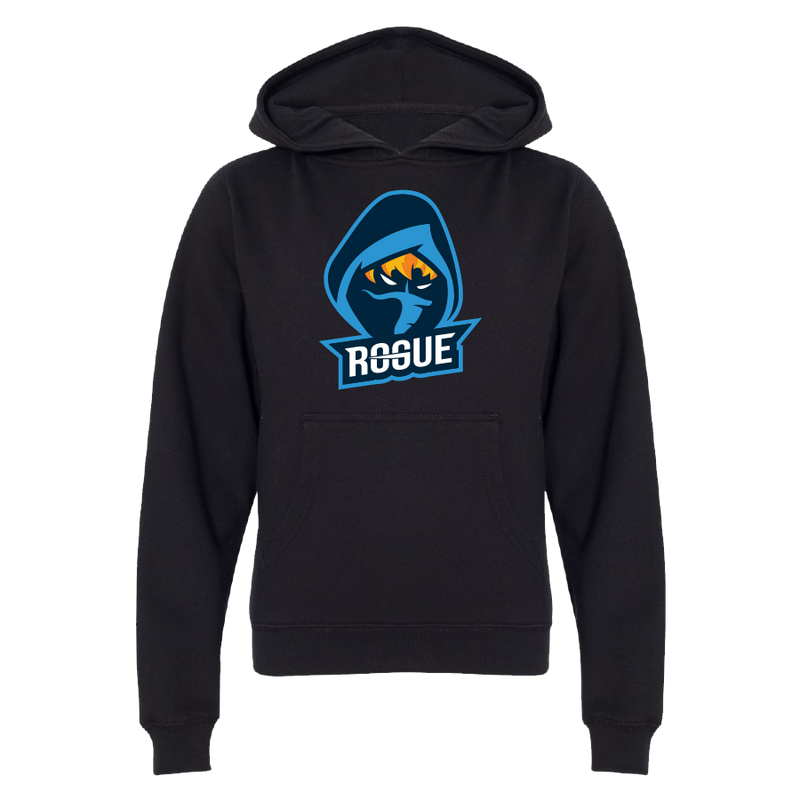 Rogue Logo Black Pullover (Youth)