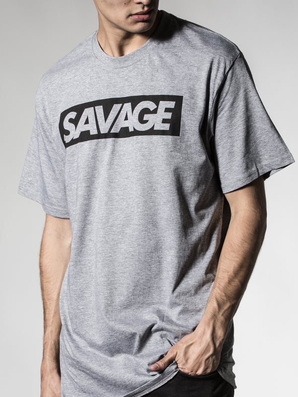 Savage Gray Tee