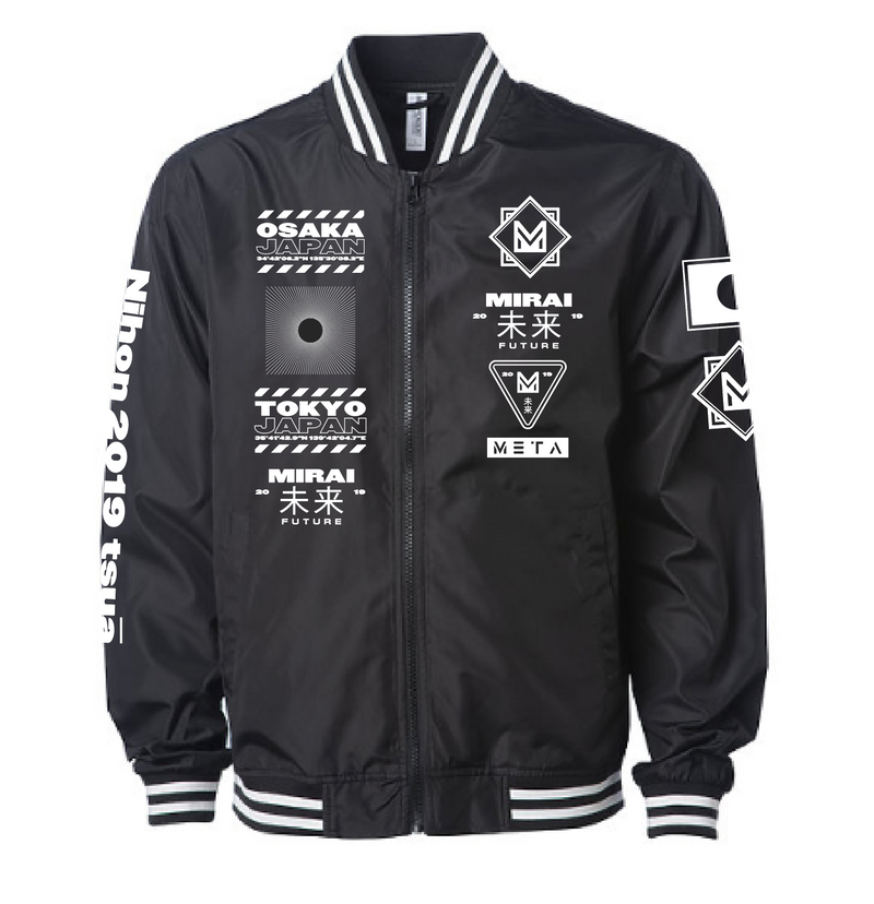 "Madison Mars ""Future"" Bomber Jacket"