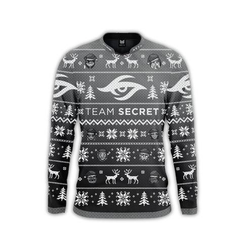Team Secret Holiday Long-Sleeve Jersey