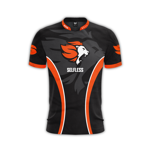 Selfless Orange Jersey Rocket League Team