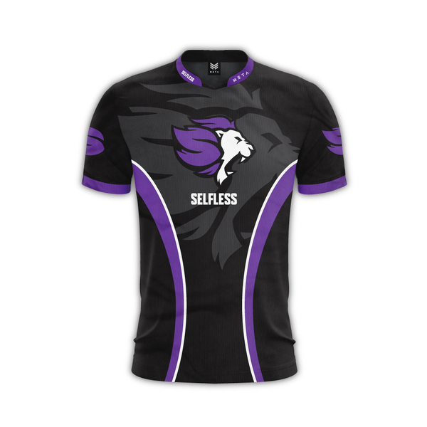 Selfless Purple Jersey Rocket League Team