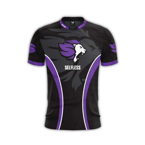 Selfless Purple Pro Jersey (Customizable)