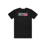 "Sentinels ""Barcode"" Black Tee"