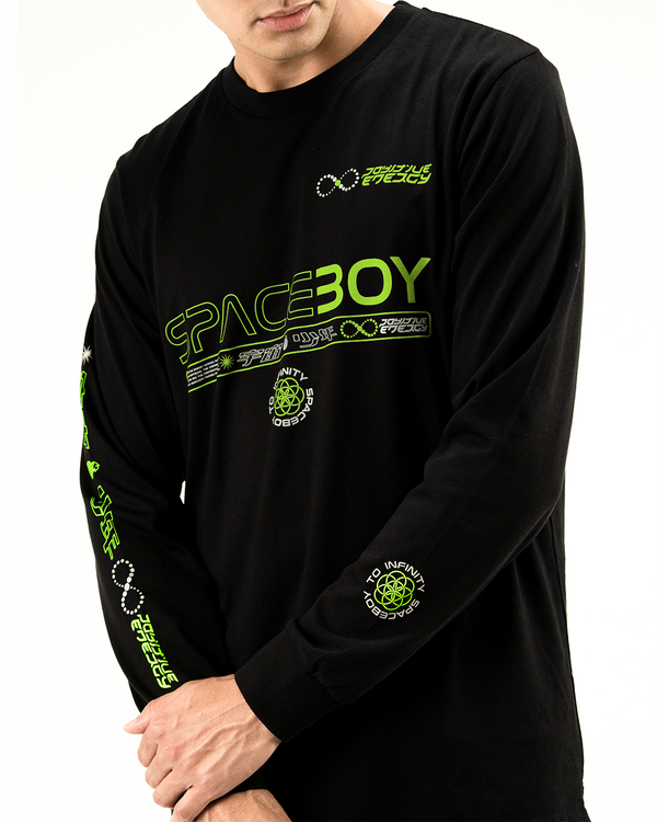 Spaceboy Emerald Long Sleeve Tee