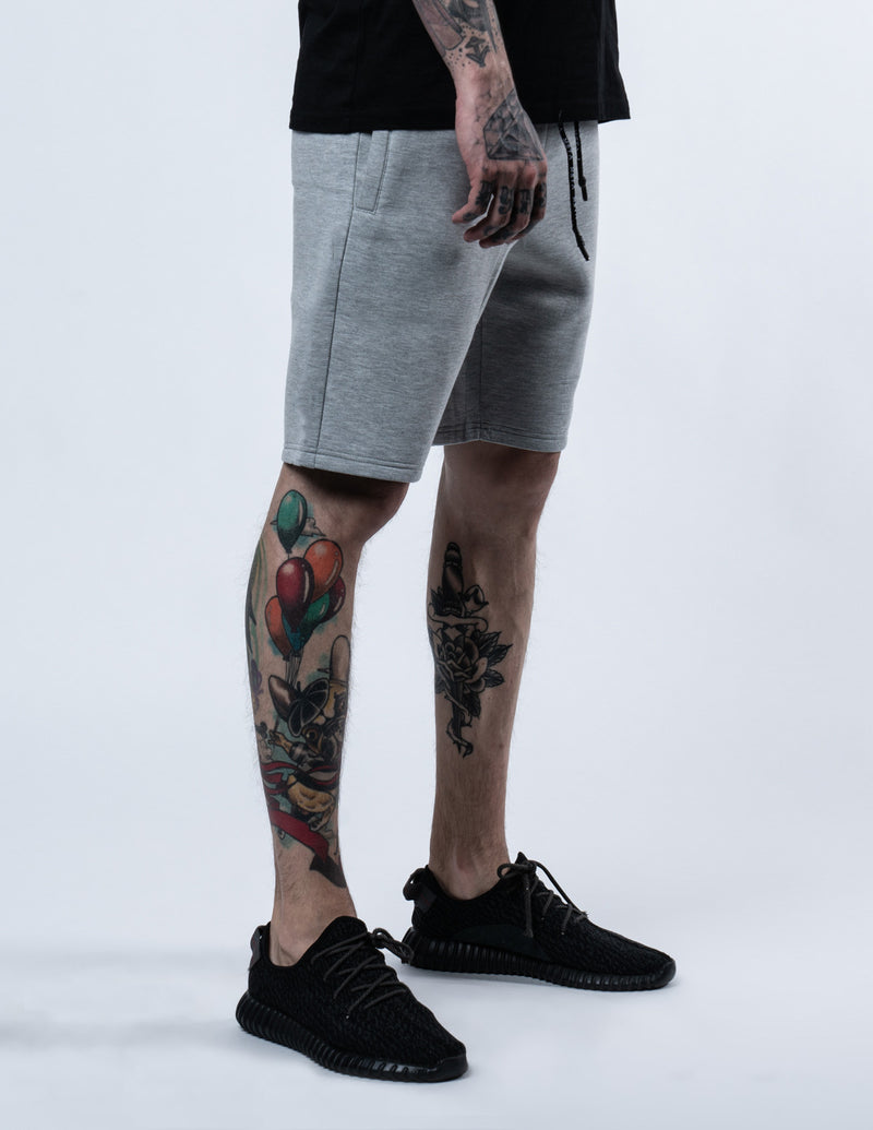 Premium Lounge Shorts Heather Grey