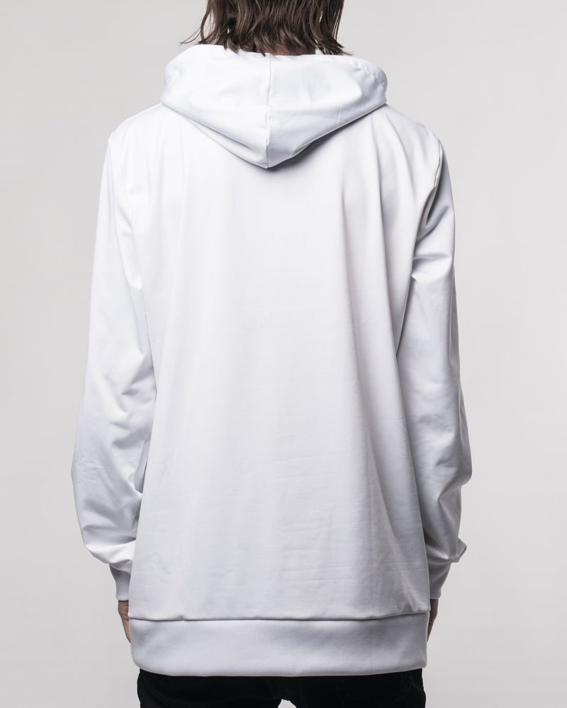 Electra White Hoodie