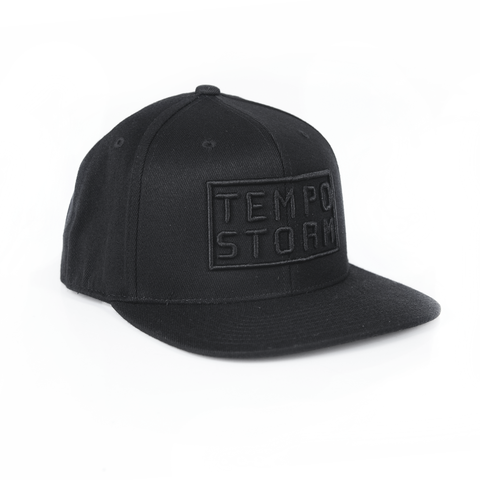 "Tempo Storm ""Black to Basics"" Snapback"