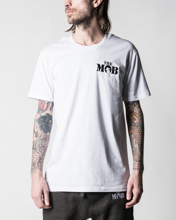 The Mob 2019 White Tee