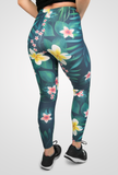"Meta Threads ""Floral"" Leggings"