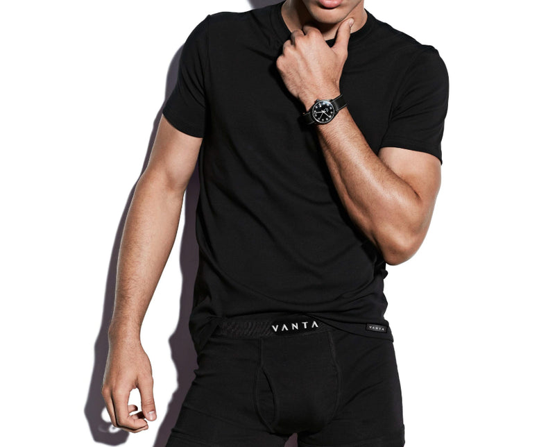 Vanta Luxury Black Shirt