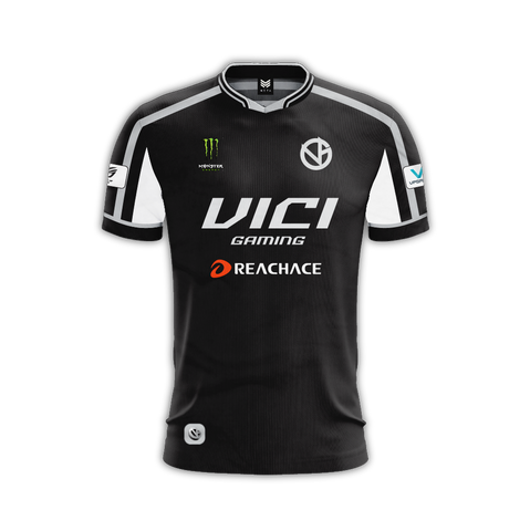 Vici Gaming Black Replica Pro Jersey