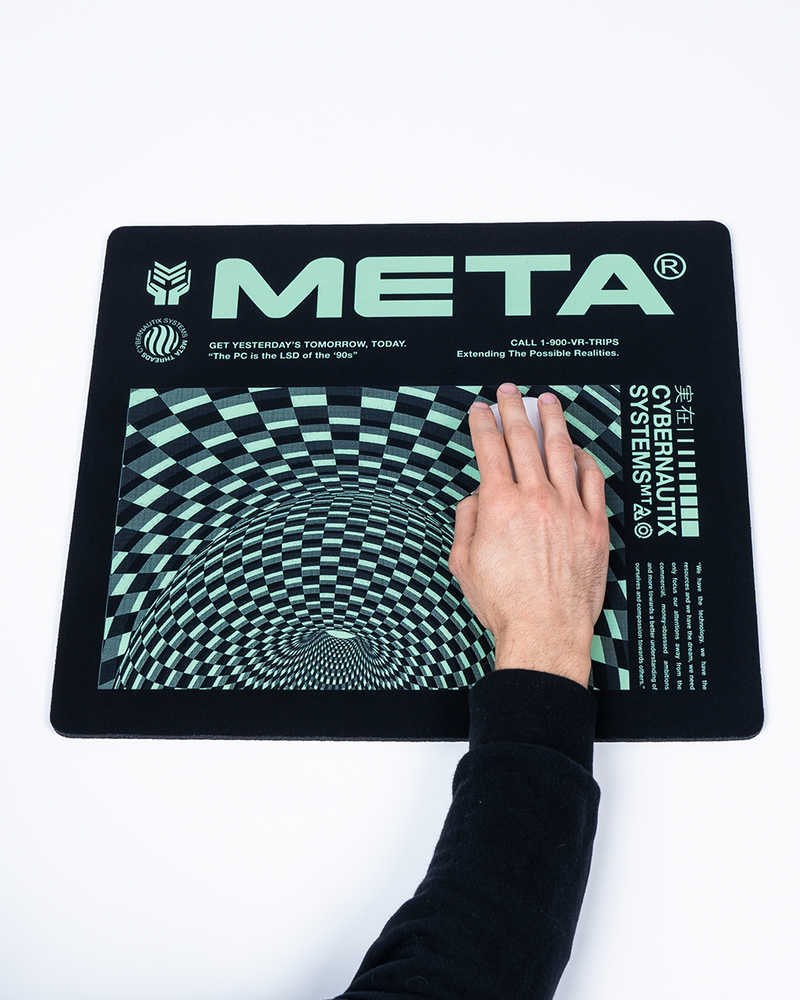 "Meta Threads ""Vortex"" Mouse Pad"