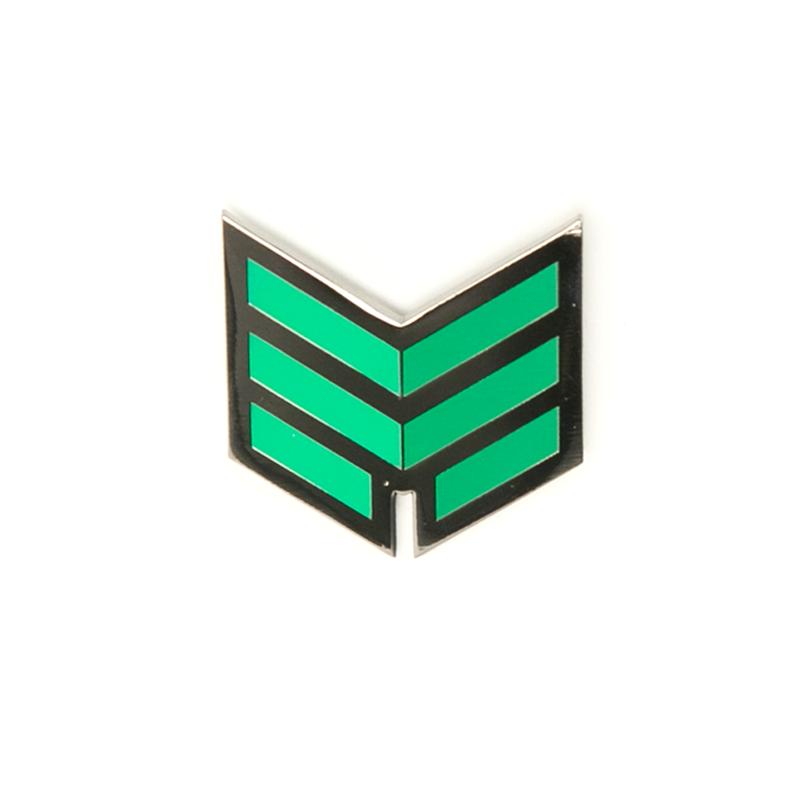 Meta Threads Logo Pin