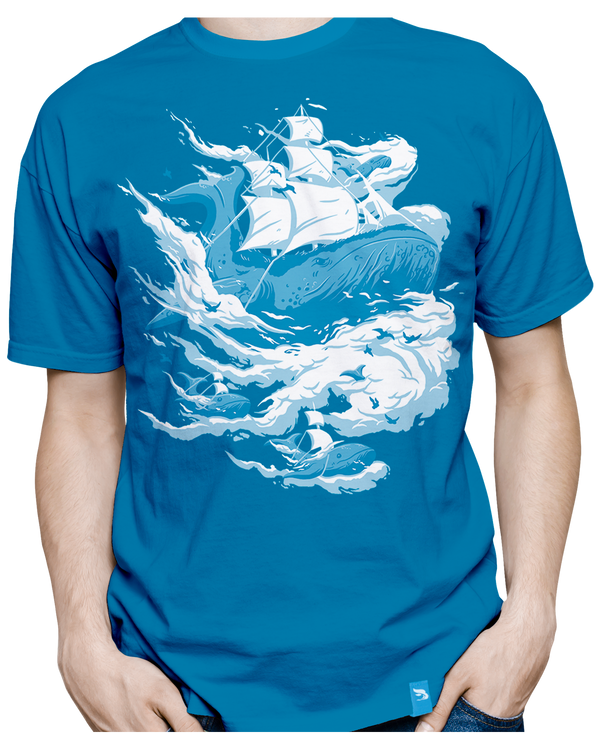 B0aty's Cloud 10 Limited Edition Blue Tee