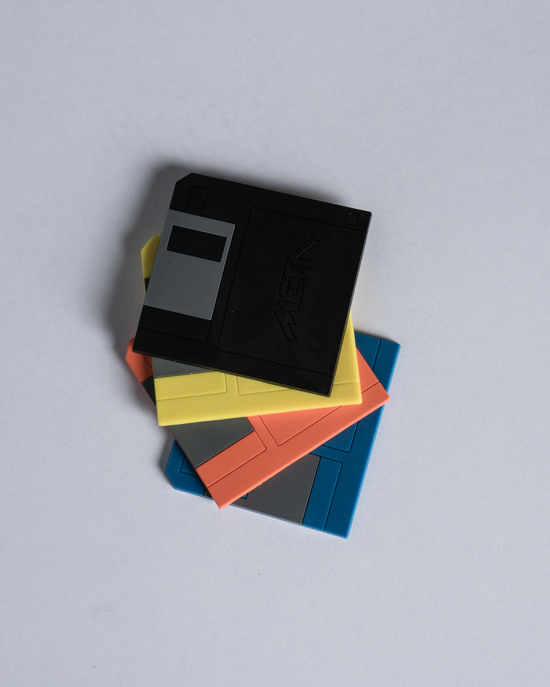 Limited Edition MT-DOS Floppy Disk Coasters