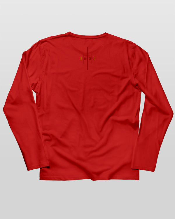 CovertGG Grit Red Long Sleeve Tee