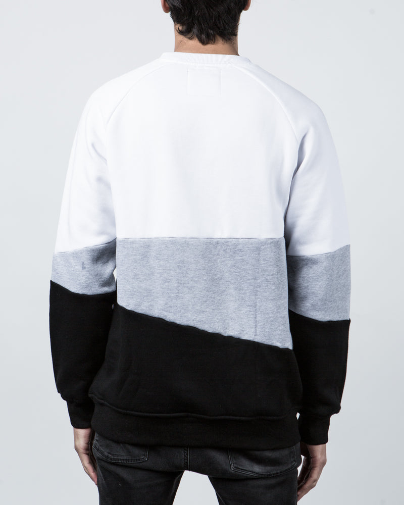 Asymmetry Crew Sweater