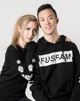Fuslie Long Sleeve Black Floral