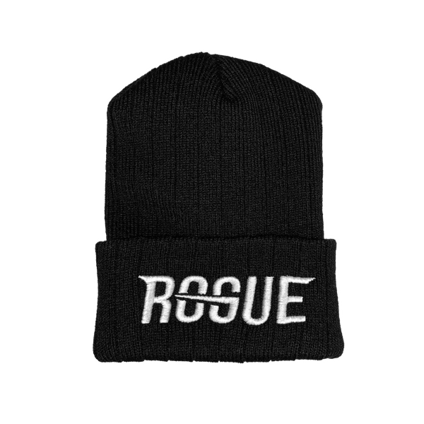 Rogue Black Beanie (Youth)