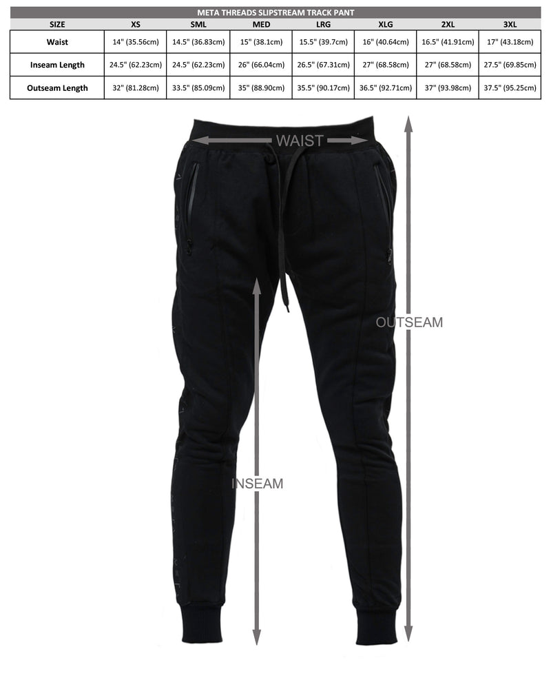 Slipstream Track Pant Black