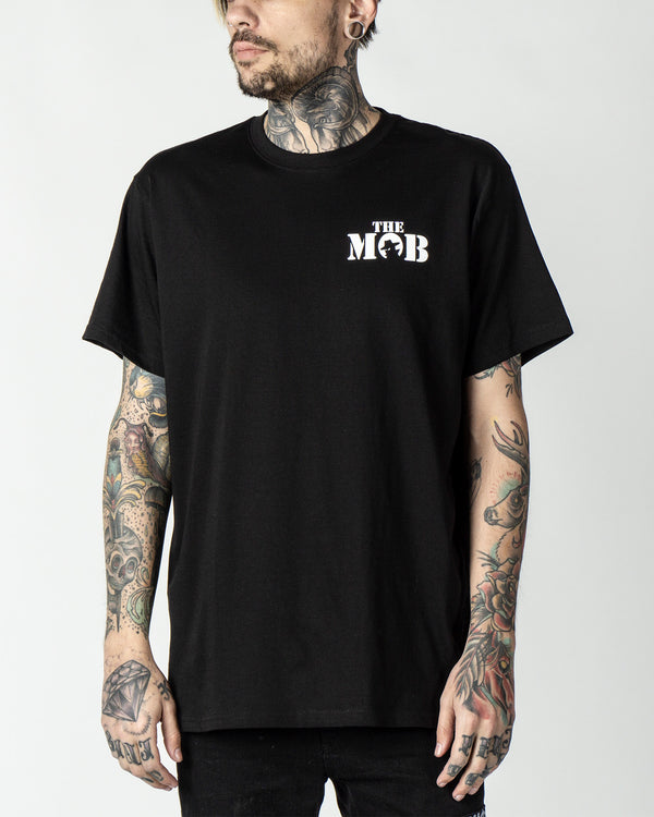 The Mob Black Tee