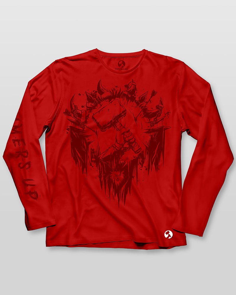 Towelliee Horde Crest Long Sleeve